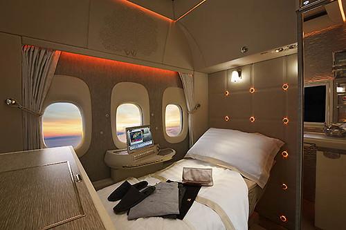 Emirates First Class virtual reality (Emirates)