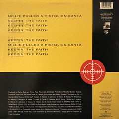DE LA SOUL:MILLIE PULLED A PISTOL ON SANTA(JACKET B)