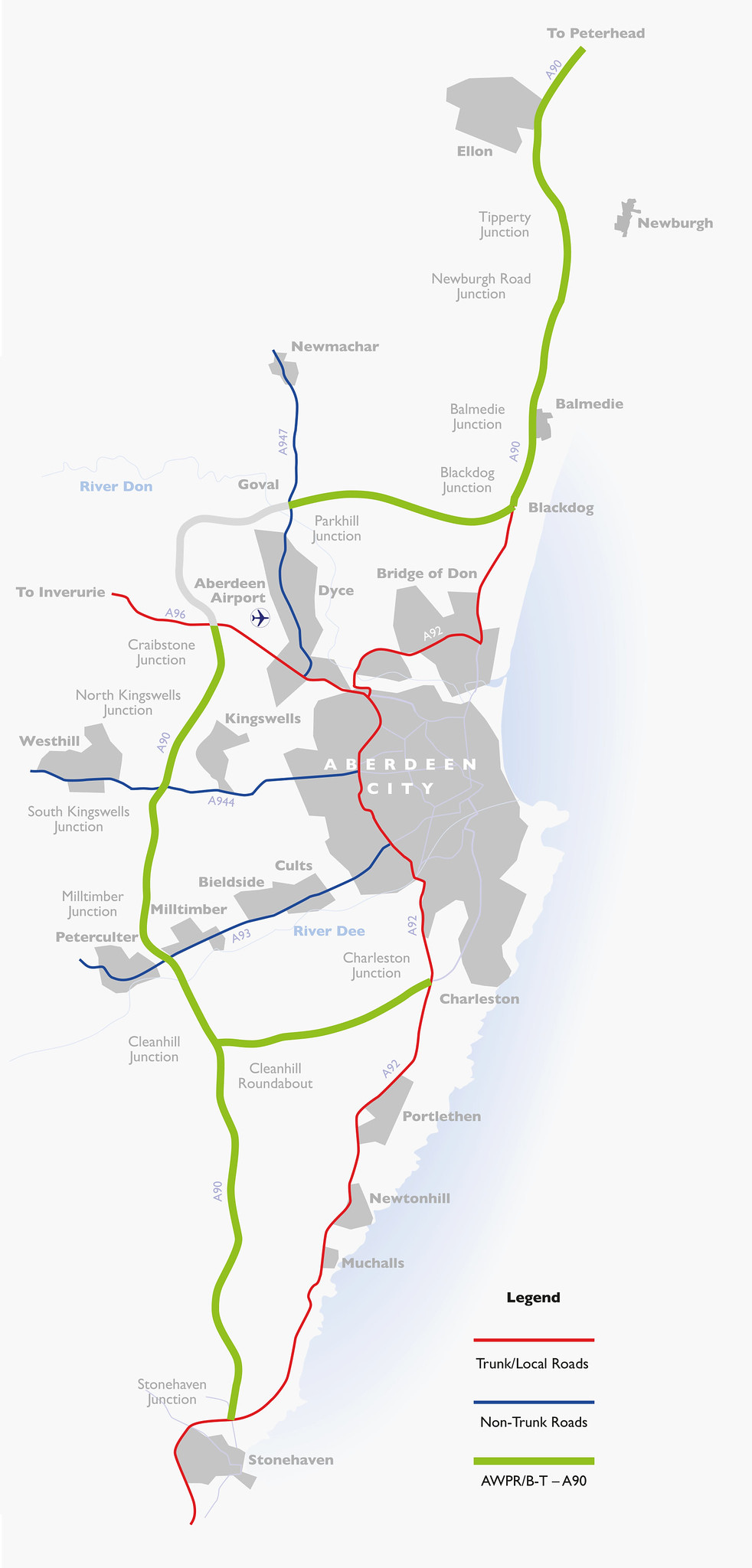 Awpr Route Map AWPR Opening (Part 1/3): New section to open Wednesday 12 December