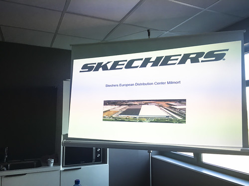 Company Visit to Skechers DC in Wallonia