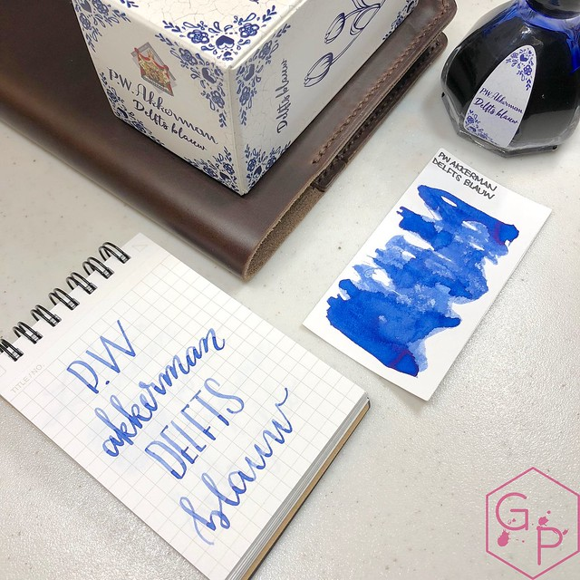 P.W. Akkerman Den Haag Delfts Blauw Ink 7