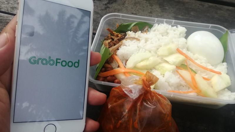 Tempah Makanan Guna Aplikasi GrabFood