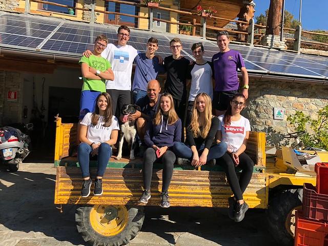 20181005 - Visita all'agriturismo La Viggni de Crest