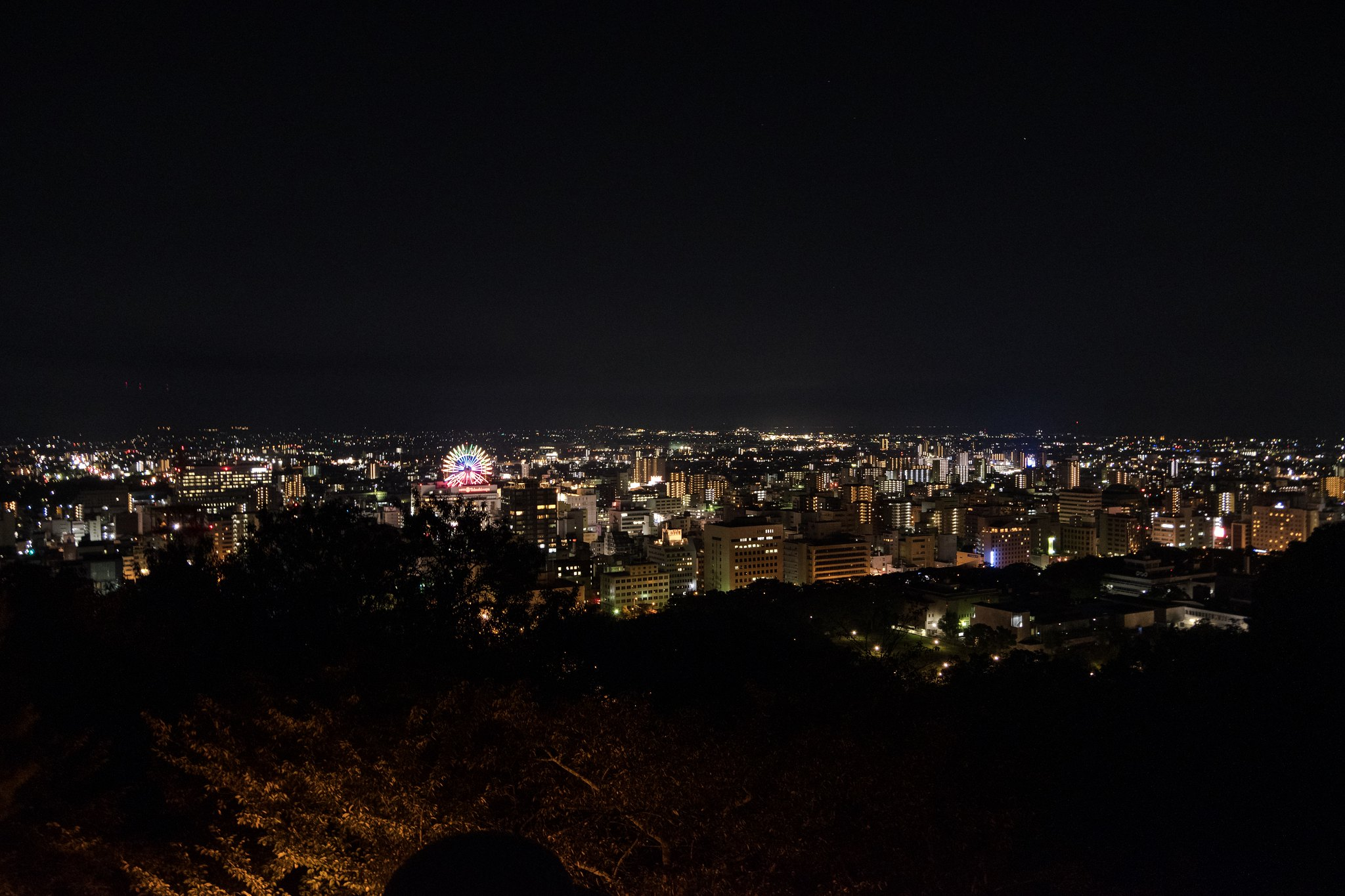 Night View of Matsuyama