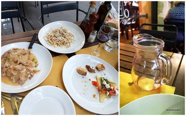 RossoVino de Maurizio dinner
