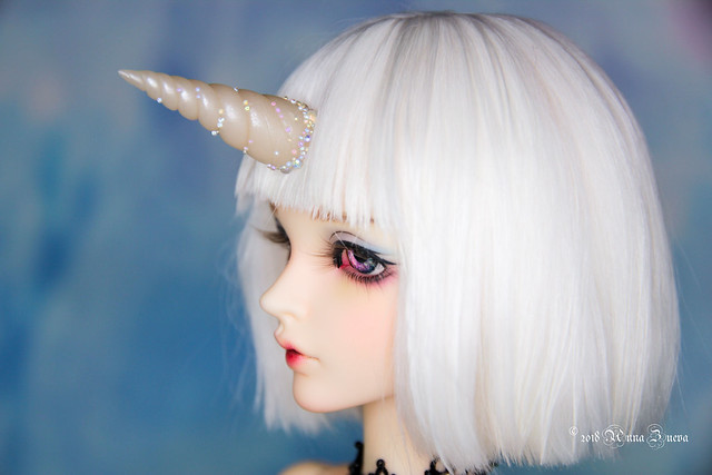Translucent unicorn horn MSD