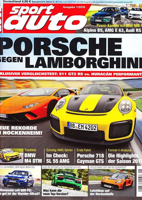 sport auto - 2018-01 - cover
