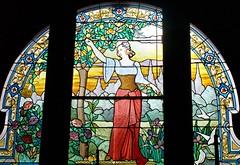 Stained Glass Window (1905) - Societé Artistique sur Verre N D des Champs, Paris, France