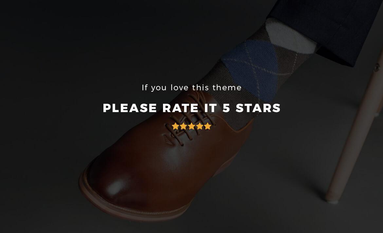 Leo Topman - Men Shoes and Fashion Prestashop 1.7 theme