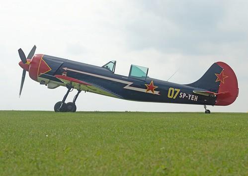 Як-50 Yakovlevs Yak-50 Etienne Verhellen by Luc Barry (1)