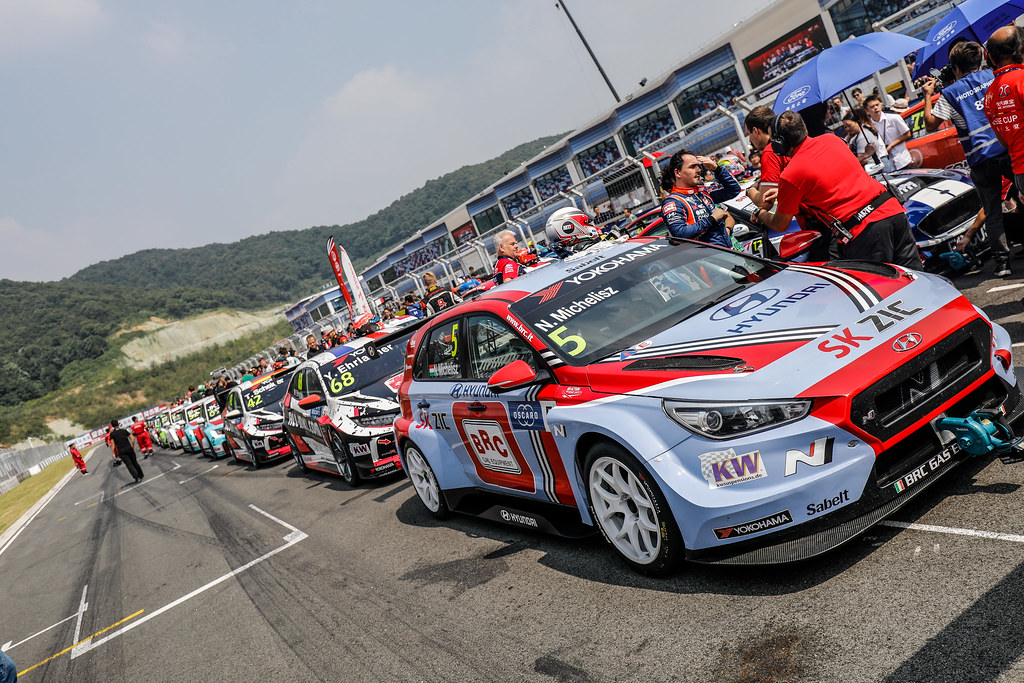 WTCR vs CTCC exchange show,  during the 2018 FIA WTCR World Touring Car cup of China, at Ningbo  from September 28 to 30 - Photo Marc de Mattia / DPPI
