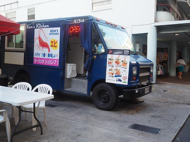 P7078939 ケンズキッチン(Ken's Kitchen) hawaii ガーリックシュリンプ ワイキキ ひめごと