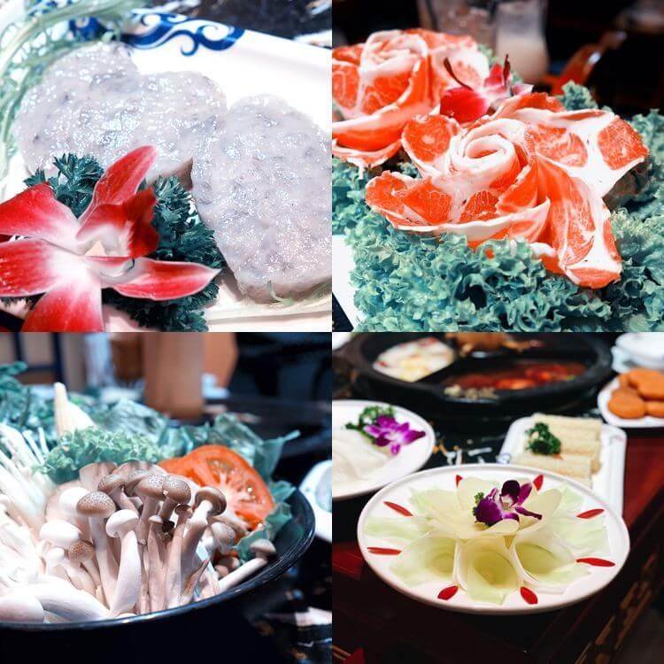 Chongqing hotpot dinner