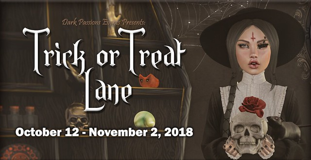 Trick or Treat Lane - 2018 - Banner