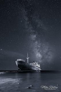 Ghost ship ...