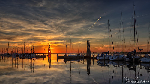Sunset Lelystad Marina