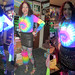 20180113 2326 - Rainbow Party #13 - Rainbow - Clio - (cameraperson unknown) - 32a22926b241c2 (triptych)