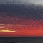 21. Oktoober 2018 - 19:34 - Nuages rouge sur l'océan