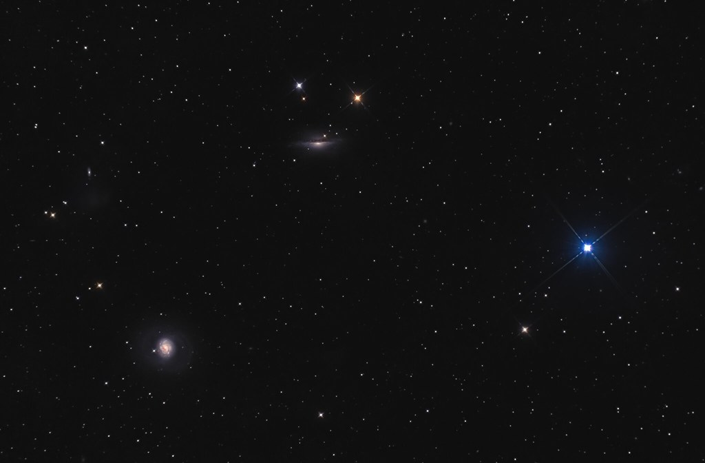 M77, NGC1055 and δ Cet