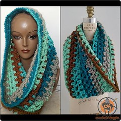 Is it cold enough yet? #scarfseason . . . . #Crochet #crocheting #scarf #cowl #fashion #style #forsale #sale