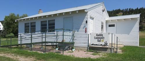Old School and Community Hall (Aladdin, Wyoming)