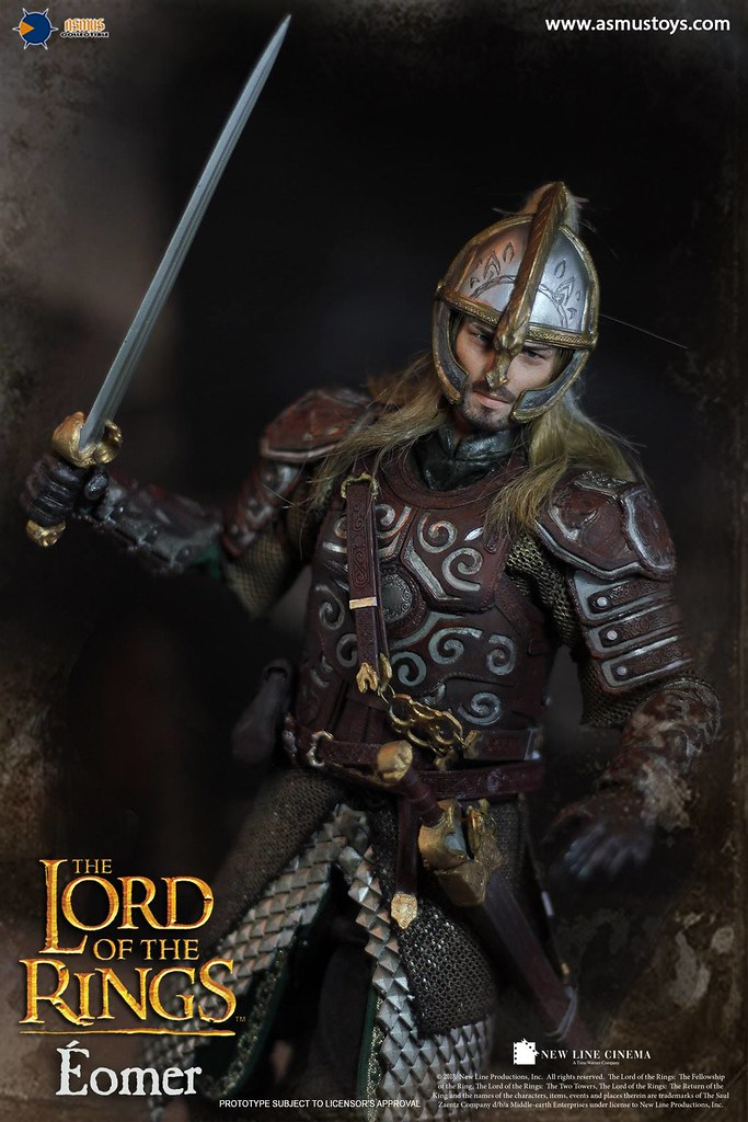 Brave Rohan Knight Joins the Battle! Asmus Toy The Lord of The Ring Éomer 1/6 Scale Figure