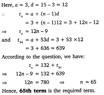 NCERT Solutions for Class 10 Maths Chapter 5 Arithmetic Progressions 34