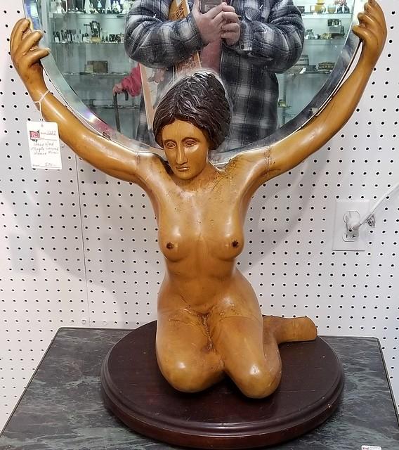 Nude woman art