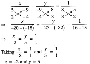 NCERT Solutions for Class 10 Maths Chapter 3 Pair of Linear Equations in Two Variables e5 3