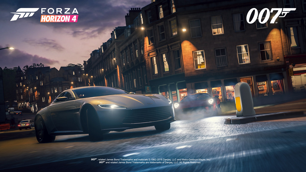 FH4 Best of Bond Aston Martin DB10 Chase