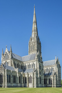 Salisbury Cathedral, Wiltshire - the Tower and East End