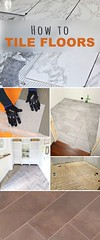 Best Ideas DIY and Crafts Inspiration : How to Tile Floors! • Learn how to lay tile, different techniques, how to inst...