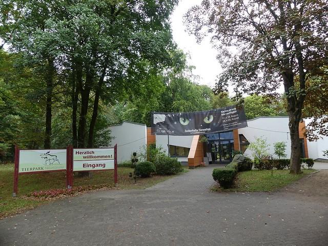 Eingang Tierpark Neumünster