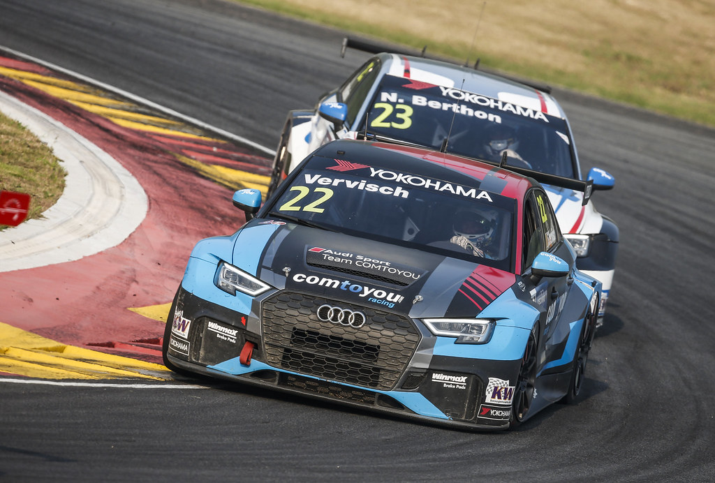 22 VERVISCH Frederic, (bel), Audi RS3 LMS TCR team Comtoyou Racing, action during the 2018 FIA WTCR World Touring Car cup of China, at Ningbo  from September 28 to 30 - Photo Jean Michel Le Meur / DPPI