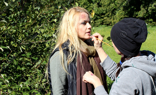 Filmfrauen Wien - Babsy Artner - On the set / Behind the scenes