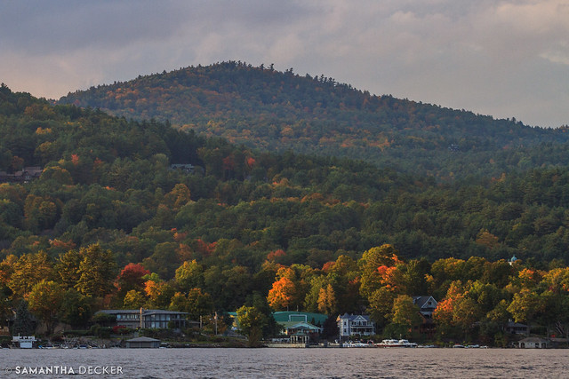 Lake George in Fall