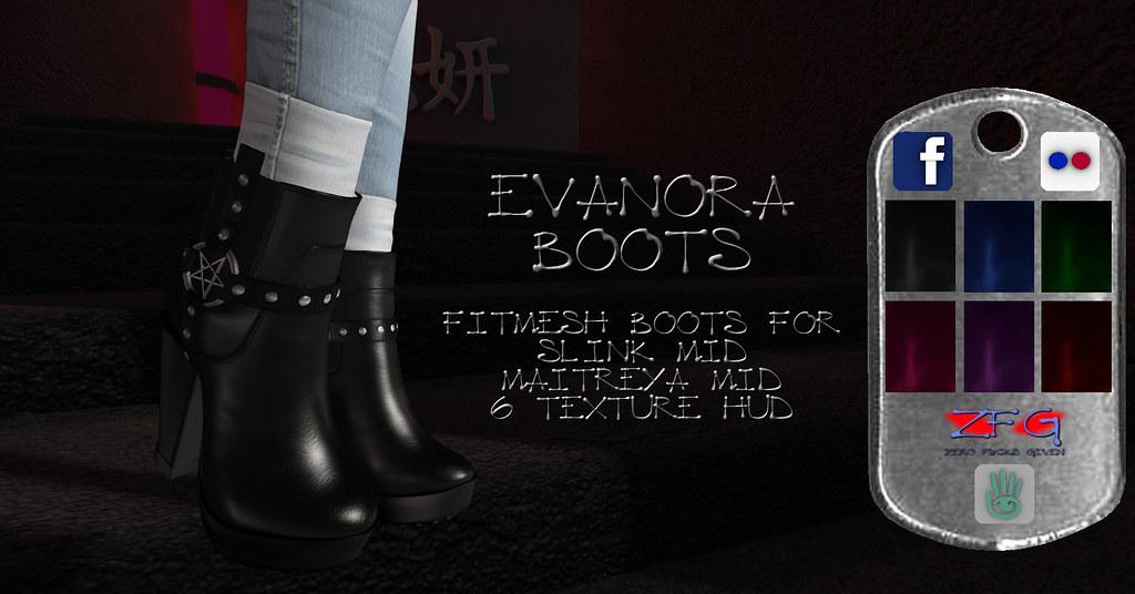 {zfg} evanora boots - TeleportHub.com Live!