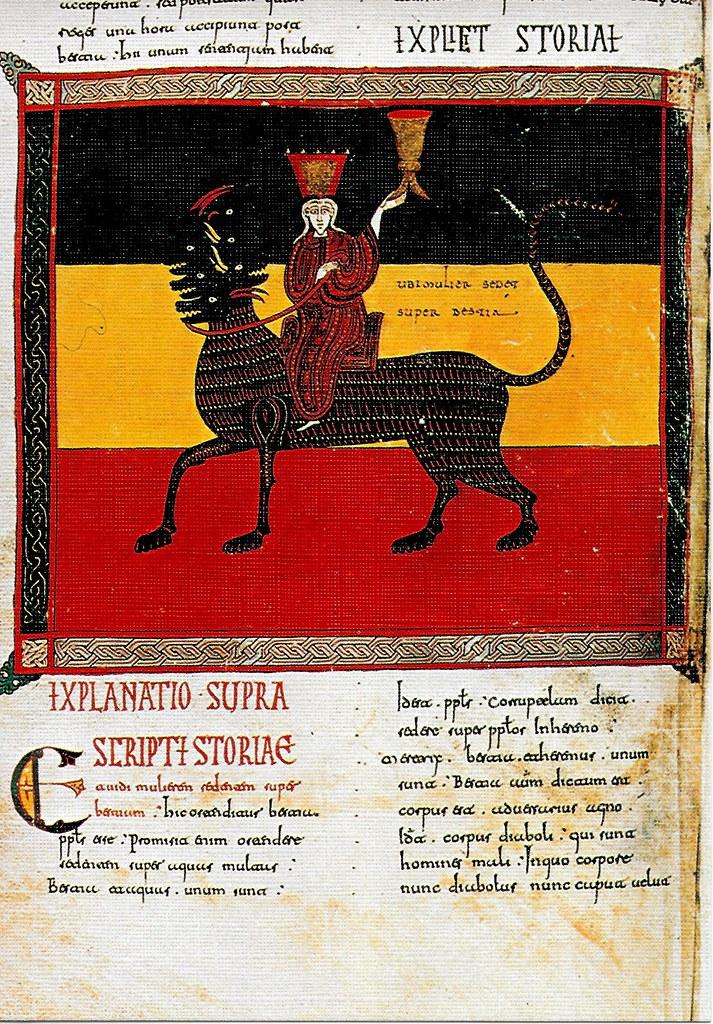 La Gran (P) Babilonia sobre la fiera roja. Ap. XVII,
