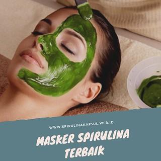 Masker Spirulina Terbaik