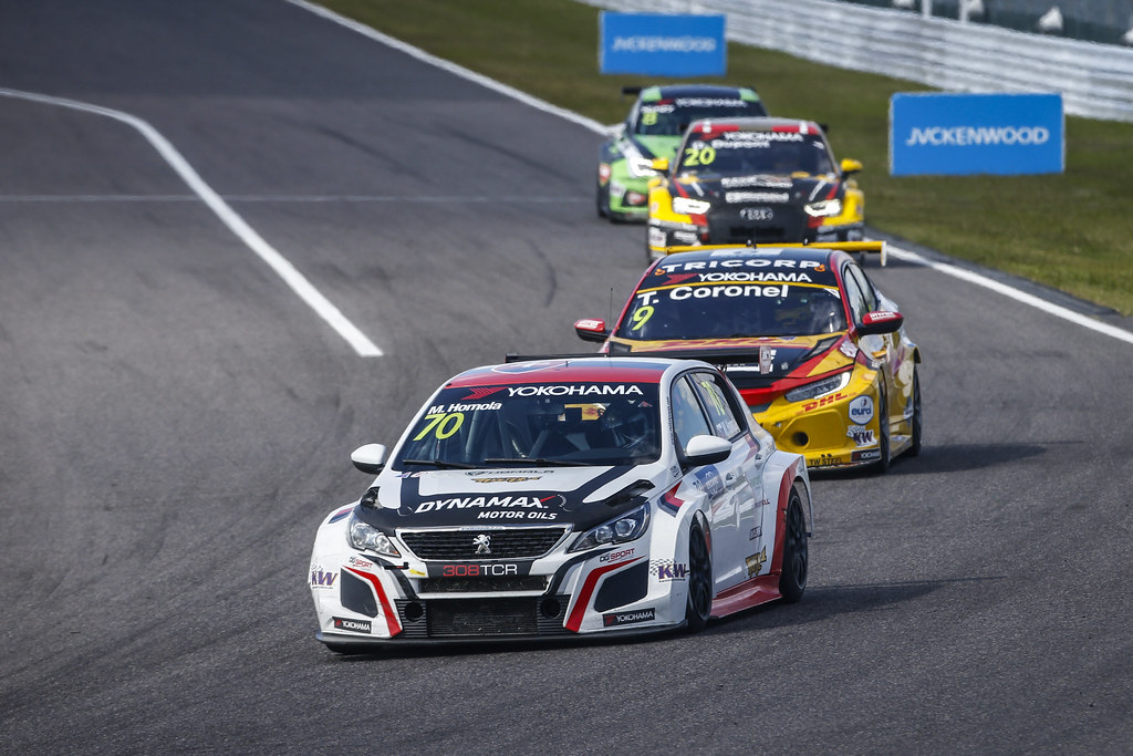 70 HOMOLA Mato, (svk), Peugeot 308 TCR team DG Sport Competition, action during the 2018 FIA WTCR World Touring Car cup of Japan, at Suzuka from october 26 to 28 - Photo Francois Flamand / DPPI