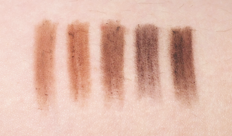 Mary Kay Precision Brow Liner  swatches