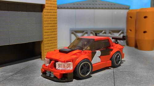 Lego Lancer EVO from Tokyo Drift