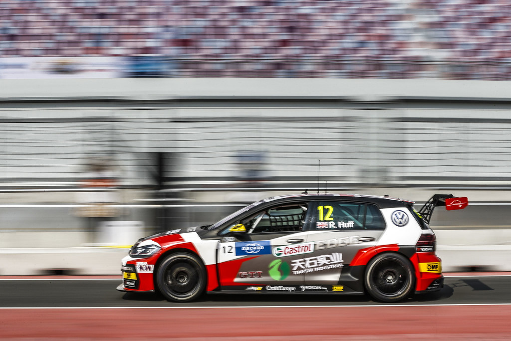 12 HUFF Rob, (gbr), Volkswagen Golf GTI TCR team Sebastien Loeb Racing, action during the 2018 FIA WTCR World Touring Car cup of China, at Ningbo  from September 28 to 30 - Photo Jean Michel Le Meur / DPPI