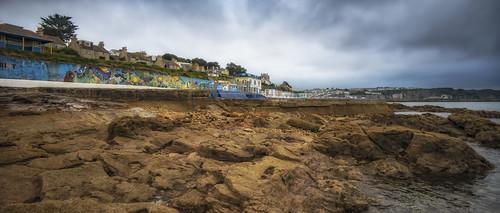 seaside graffiti