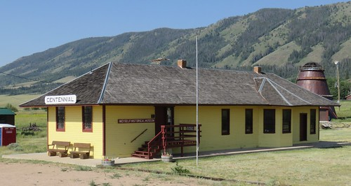 Old Union Pacific Railroad Depot (Centennial, Wyoming)