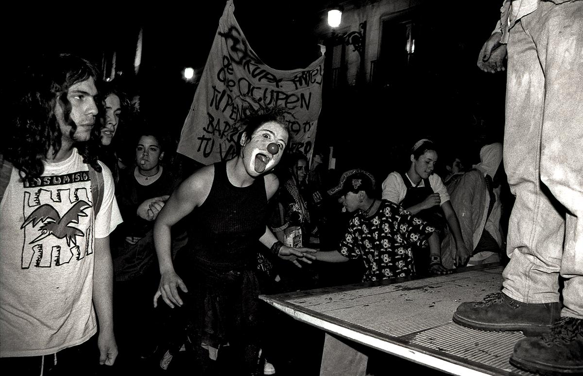 Manifestación Okupas Madrid