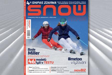 SNOW 112 - listopad 2018: Bode Miller, SNOWtest lyží