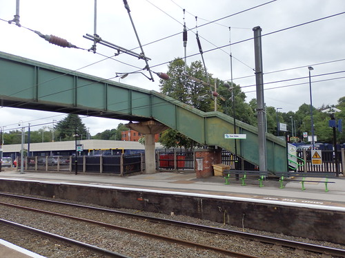 Four Oaks Station footbridge