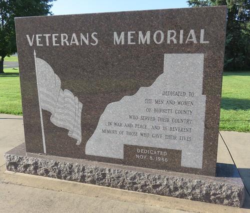 Burnett County Veterans Memorial (Siren, Wisconsin)