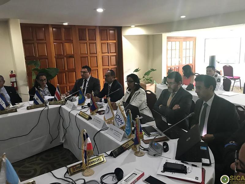 XLVII Reunión ordinaria de la Comisión de Autoridades Migratorias de los países miembros del SICA-OCAM